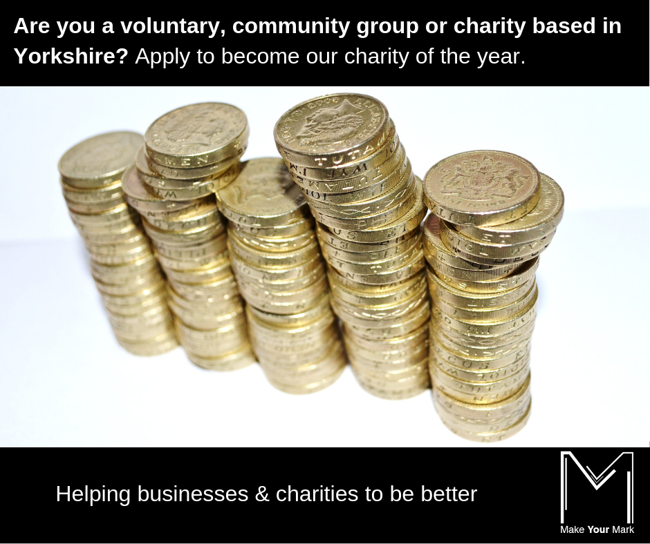 Charity of the year nominations open
