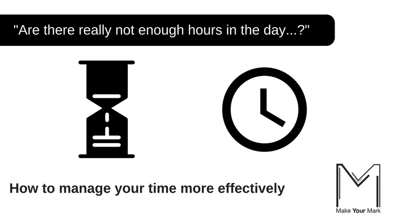 Time management training banner