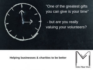 Are you valuing volunteers?