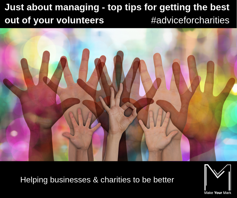 Top tips for managing volunteers